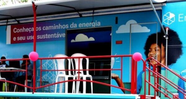 """São Pedro recebe projeto """"Carreta Educacional da Enel"""""""