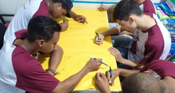 Alunos do Bairro Campo Redondo participam de projeto sobre atividades vocacionais