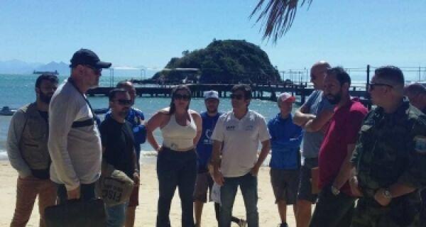 Prefeitura de Búzios e MPF realizam ação de ordenamento na Praia do Canto