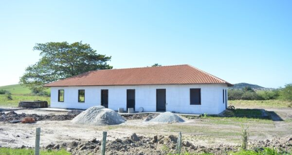 Prefeitura de São Pedro avança na construção do Museu do Sal