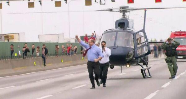 Governador comemora desfecho com morte do sequestrador