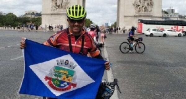 Ciclista de Cabo Frio participa de prova tradicional na França