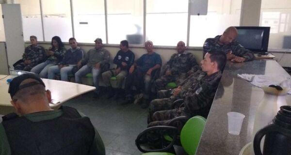 Guarda Ambiental aldeense participa de reunião sobre defeso da lagoa