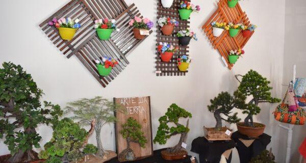 Exposição de artesanato movimenta casa de cultura em São Pedro