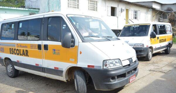 Veículos de Transporte Escolar passam por vistoria em São Pedro