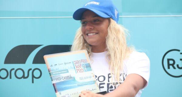 Cabo Frio Surf Pro é sucesso e atleta da cidade sobe ao pódio