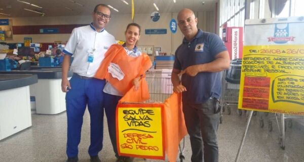 Defesa Civil de São Pedro participa de gincana solidária