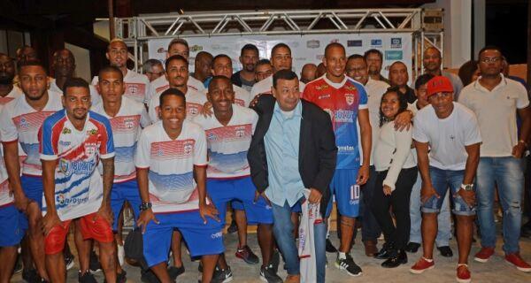 Prefeito de Búzios participa de coquetel de apresentação da comissão técnica e atletas da SEB