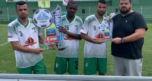 Porto da Roça FC vence o Campeonato Municipal de Veteranos