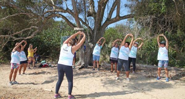 Grupo de idosos do CRAS Cem Braças realiza passeio cultural pelo Mangue de Pedras