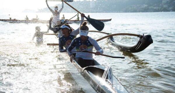 Equipes de Cabo Frio disputam etapa de Brasileiro de Canoas Havaianas