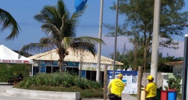 Praia do Peró terá Bandeira Azul por mais um ano