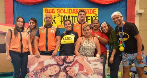 Gincana solidária arrecada cerca de duas toneladas e meia de alimentos em São Pedro da Aldeia