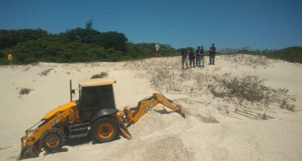Polícia Civil retoma buscas por restos mortais de vigias