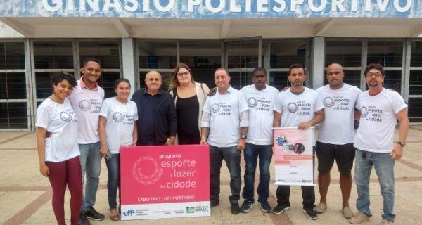 """Cabo Frio firma parceria com """"Programa Esporte e Lazer da Cidade"""""""