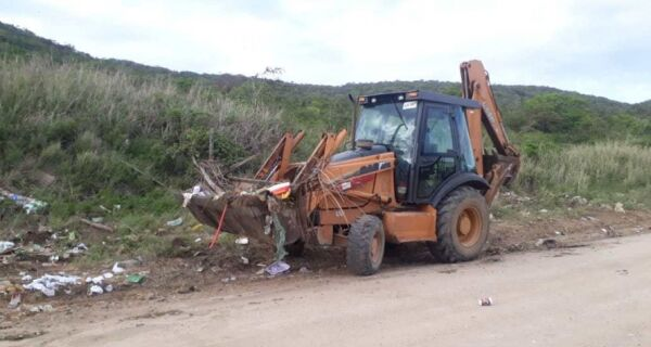 Prefeitura de Cabo Frio detecta ponto de descarte irregular de lixo