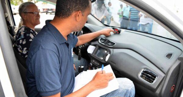 Vistoria dos taxímetros tem início em São Pedro da Aldeia
