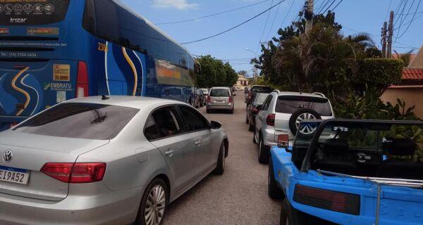 Moradores alertam para caos no Peró durante a alta temporada