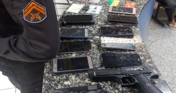 PM prende grupo que praticava assaltos em Cabo Frio e São Pedro da Aldeia