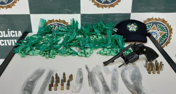 Polícia Civil faz operação para cumprir mandados de prisão na Praia do Siqueira e no Conjunto 'Minha Casa Minha Vida'