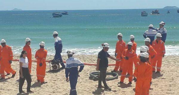 Prefeitura de Cabo Frio notifica Petrobras para receber equipamentos de prevenção a vazamento de óleo