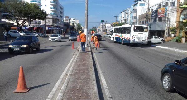 Prefeitura de Cabo Frio intensifica limpeza para o próximo feriado