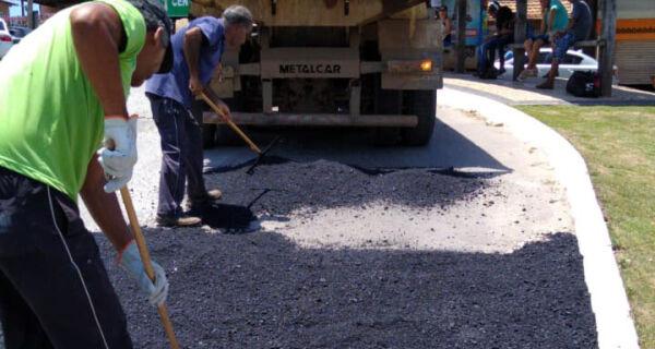 Prefeitura de Búzios realiza operação Tapa Buraco na RJ-102