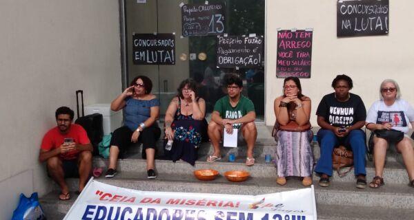 Governo de Cabo Frio tenta empréstimo para o 13º em dia de protesto