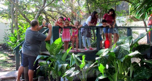 Aldeia Criativa encerra o ano com tema natalino na Fonte Itajuru neste sábado (14), em Cabo Frio