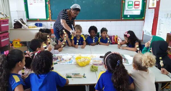 Escola Manoel Mendes, em Cabo Frio, ganha destaque nacional na Jornada de Educação Alimentar e Nutricional