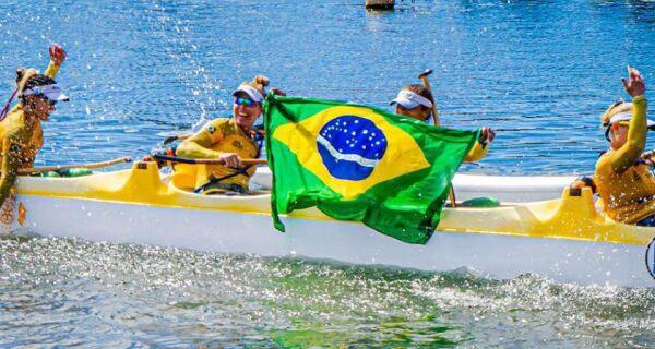 Equipe Mana Brasil, de Cabo Frio, ganha Pan-Americano de canoa havaiana na Ilha de Pascoa