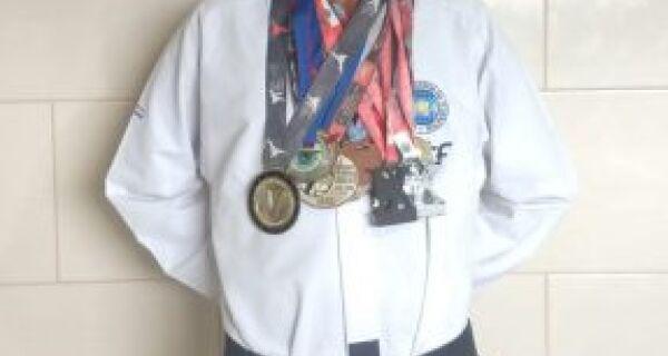 Atleta Aldeense recebe apoio de São Pedro para disputar Copa Brasil de Taekwondo