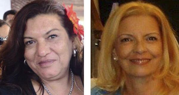 Cabo Frio chora a perda de Leila Carriço e Elizabeth Marge