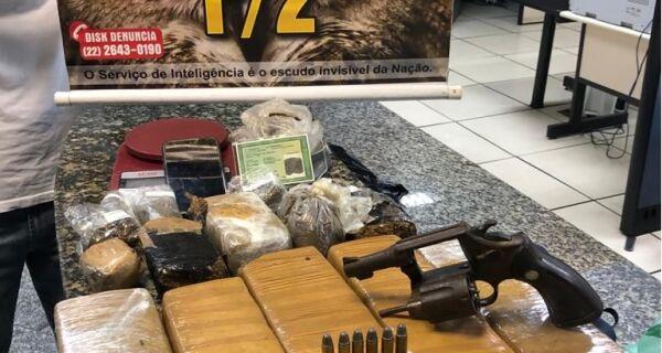 Homem é preso ao transportar droga em ônibus da secretaria de Saúde de Cabo Frio
