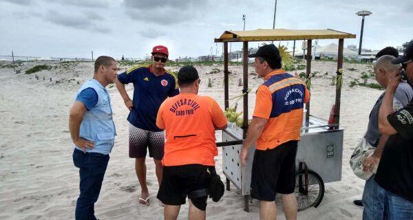 Prefeitura de Cabo Frio faz recadastramento de ambulantes