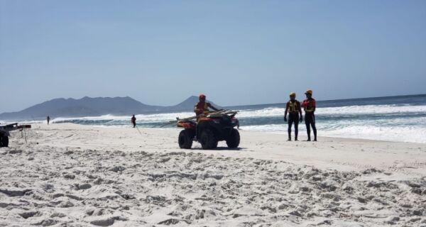 Grupamento Marítimo de Arraial participa das buscas por afogado em Monte Alto