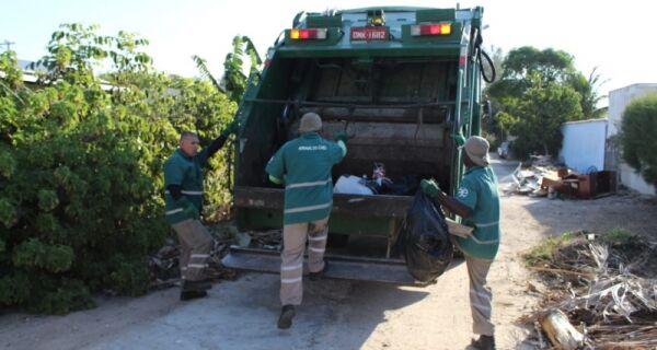 Arraial do Cabo divulga balanço da coleta de lixo da última semana