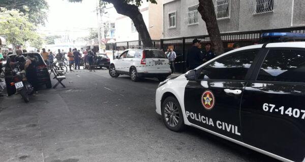 Polícia analisa imagens e ouve testemunhas para resolver homicídio no Centro