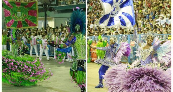 Mangueira e Beija-Flor fazem super ensaio no Pier Mauá