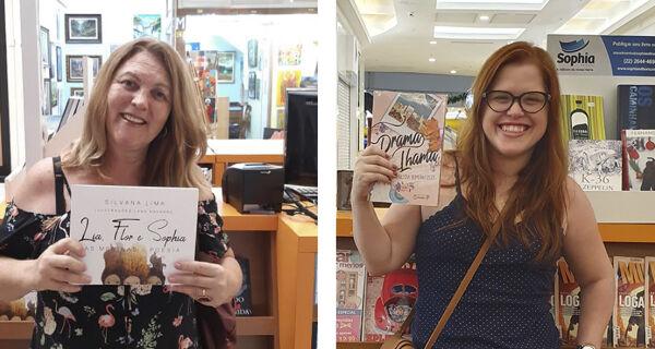 Escritores de Cabo Frio ganham espaço em quiosque no Shopping Park Lagos