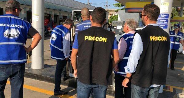 Procon de Cabo Frio multa postos de gasolina em R$ 49 mil