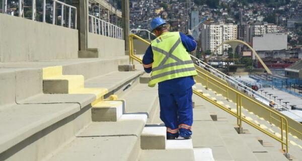 Riotur diz que obras no Sambódromo só ficam prontas na primeira semana de fevereiro