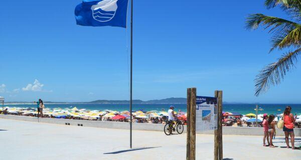 Lei poderá eternizar o Bandeira Azul na Praia do Peró