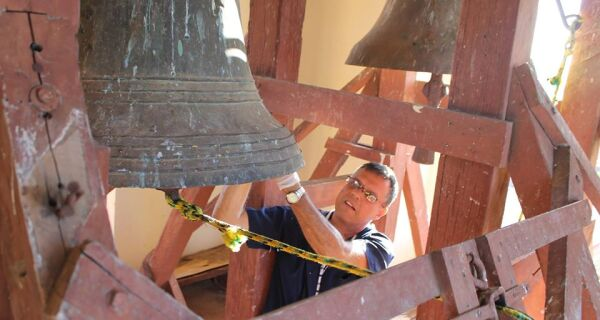 Sinos do antigo convento, em Cabo Frio, serão retirados para restauração