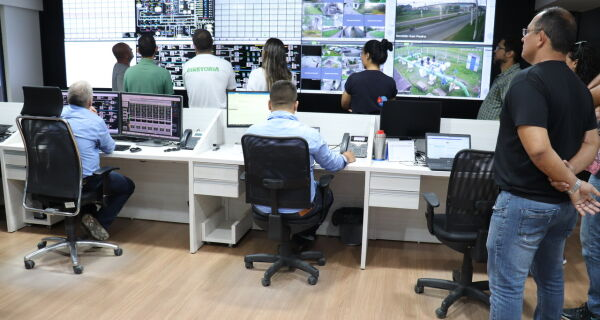 Conselho Municipal de Meio Ambiente de São Pedro visita Centro de Controle Operacional da Prolagos