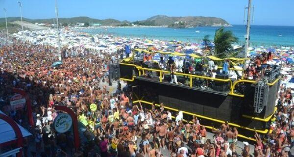 Prefeitura de Cabo Frio confirma desfile de blocos na orla do Forte