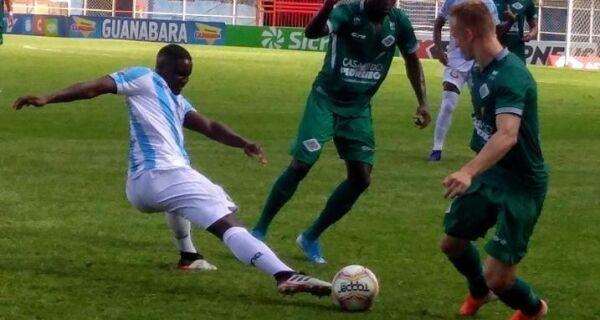Cabofriense perde para o Macaé com gol contra: 1 a 0
