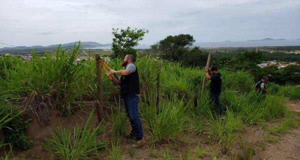 Prefeitura de Cabo Frio termina com ocupação irregular em Monte Alegre