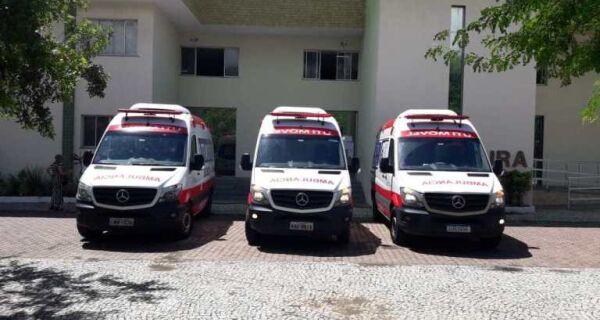 Prefeitura de Cabo Frio recebe ambulâncias com UTI móvel para combate ao coronavírus