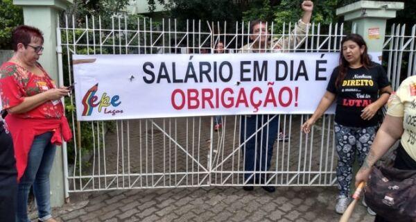 Em greve e de quarentena, Educação de Cabo Frio cobra finalização do pagamento dos salários de fevereiro